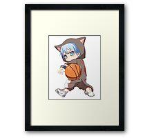 Kuroko Chibi - Kuroko no Basket Framed Print