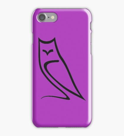 Vector Style Owl iPhone Case/Skin