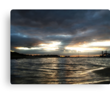 Malahide Sunset Canvas Print