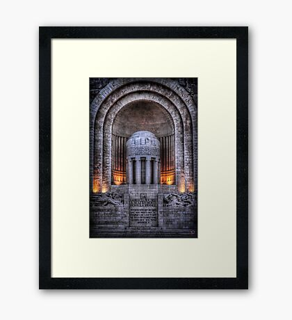 Monument aux Morts Nice Framed Print