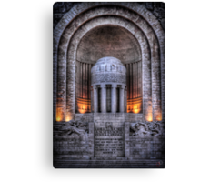 Monument aux Morts Nice Canvas Print