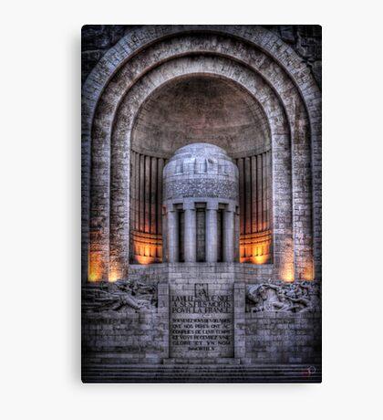 Monument aux Morts Nice Canvas Print