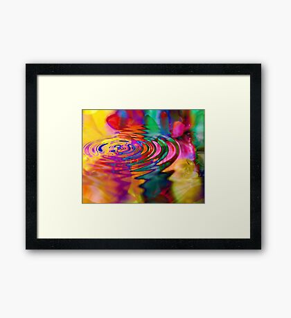 The Displacement of Natural Causality as it Pertains to the Physics of Unnatural Effect Framed Print