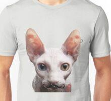 A Hipster Sphynx Cat Unisex T-Shirt