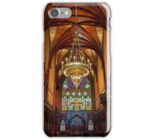 USA. Massachusetts. Cambridge. Harvard University. Memorial Hall. Interior. iPhone Case/Skin