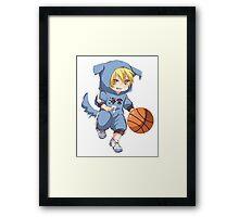 Kise Chibi - Kuroko no Basket Framed Print