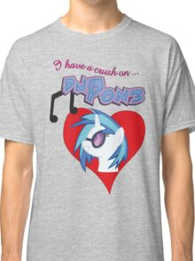 I have a crush on... DJ Pon3 - with text Classic T-Shirt