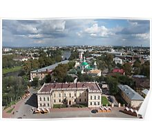 Vologda aerial view Poster