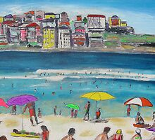 BONDI SUMMER  by gillsart