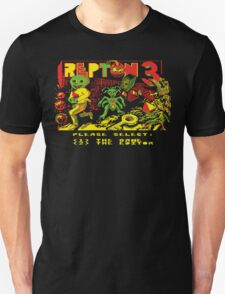 Repton 3 title screen Unisex T-Shirt