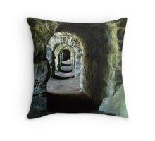 Suomenlinna Tunnels Throw Pillow