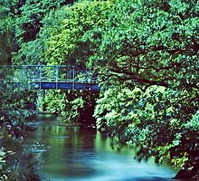 Bridge Over The River Darwen by inkedsandra