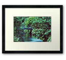 Bridge Over The River Darwen Framed Print