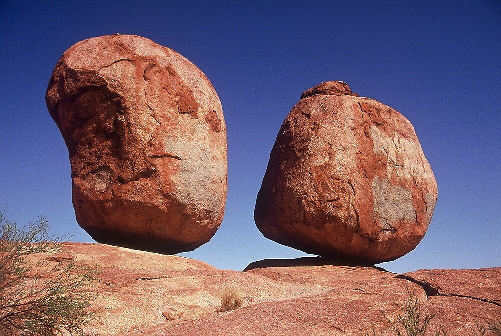 Devil's Marbles, Northern Territory, Australia by Dean Bailey
