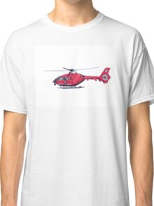 Northern Lighthouse Board Helicopter UK Classic T-Shirt