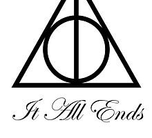 Harry Potter And The Deathly Hallows Symbol by Aaron Kim