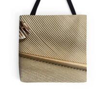 Dewdrop on Quill Feather Tote Bag