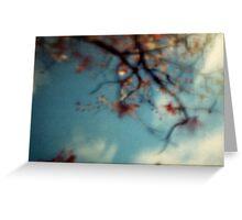 autumnal skies Greeting Card