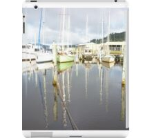 Boat Reflections at Franklin iPad Case/Skin