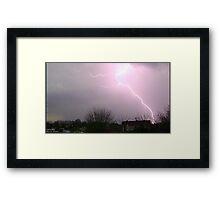 Storm Chase 2011 3 Framed Print