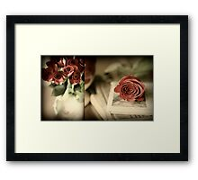 My Beloved's Roses Framed Print