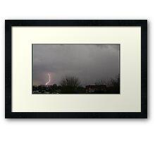 Storm Chase 2011 7 Framed Print