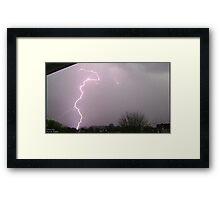 Storm Chase 2011 8 Framed Print