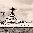 HMS Resolution 1916 to 1948 by sweeny