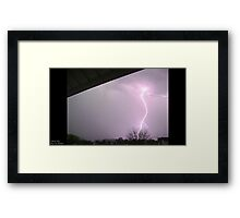 Big Spark  Framed Print