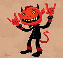 Heavy Metal Devil by fizzgig