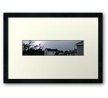 Storm Chase 2011 25 Framed Print