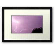 Storm Chase 2011 41 Framed Print