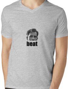On the beat Mens V-Neck T-Shirt