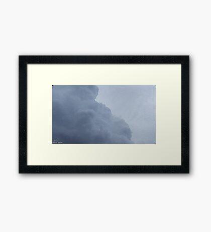 Storm Clouds 3 Framed Print