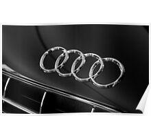 Audi Emblem Poster