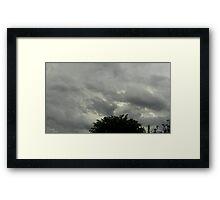 Storm Chase 2011  Framed Print