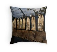 mailboxes in a row Throw Pillow