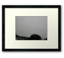 Storm Chase 2011 68 Framed Print