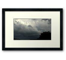 Summer Storm 2 Framed Print