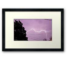 Storm Chase 2011 76 Framed Print
