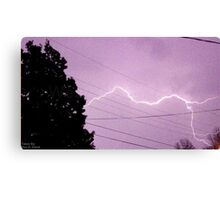 Storm Chase 2011 76 Canvas Print