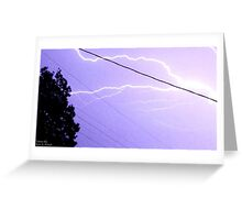 Storm Chase 2011 80 Greeting Card