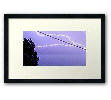 Storm Chase 2011 81 Framed Print