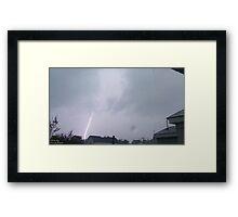 Storm Chase 2011 84 Framed Print