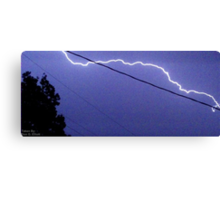 Storm Chase 2011 86 Canvas Print