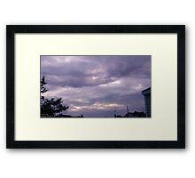 Storm Chase 2011 92 Framed Print