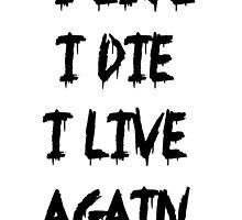 I live I die by Sam Whitelaw