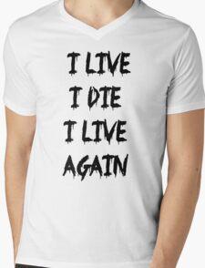 I live I die Mens V-Neck T-Shirt