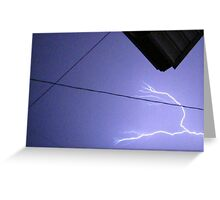 Storm Chase 2011 97 Greeting Card
