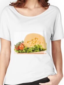 cherry tomatoes and yellow cheese Women's Relaxed Fit T-Shirt